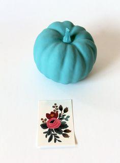 Make a vibrant pumpkin this Fall