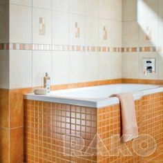 Obklady a dlažba, obkladačky pro koupelny, kuchyně, bazény, venkovní prostory - RAKO HOME Corner Bathtub, Alcove, Bathroom, Bath Room, Bathrooms, Bath, Bathing, Bathtub, Toilet