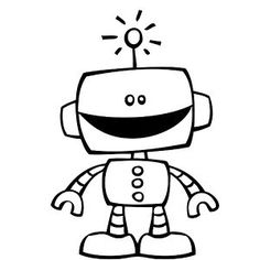Terrific Pictures robot drawing for kids Strategies Allow children a collection of report and also a container associated with crayons, as there are a good chance they sha Colouring Pages, Coloring Sheets, Adult Coloring, Coloring Books, Kids Colouring, Robots Drawing, Drawing For Kids, Digital Stamps, Coloring Pages For Kids