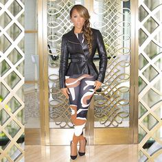 Complete Look for Dior Show #pfw #ootd #MarjorieHarvey @theladylovescouture @robertector @devvision @kiyahwright1 @jasonmcglothin
