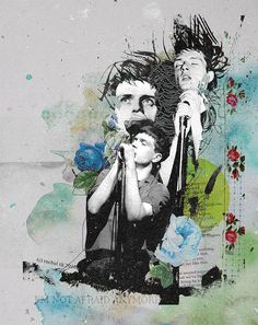 Joy Division / Ian Curtis - pop art