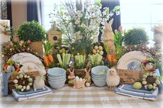 Setting a pretty table makes dining a delight!