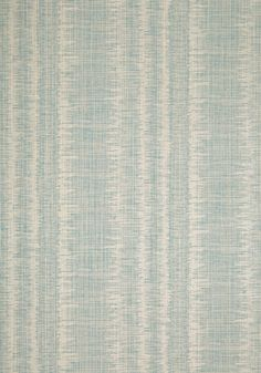 DANUBE IKAT, Aqua, T88739, Collection Trade Routes from Thibaut