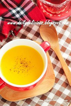 Happy Cooking with LG SolarDom: Quick and easy Pumpkin potage (Pumpkin soup)
