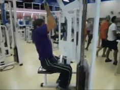 The Travelin' Man from New Exercises to Try Out At the Gym in 2014...NOT! LMAO