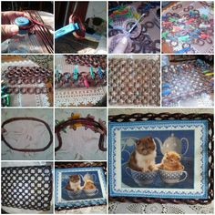 How to make Newspaper Weaving Tray DIY tutorial instructions