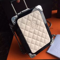 Chanel Trolley Minaudiere Bag SS2016 Style code: A93995 For sale at www.ccbellavita.eu