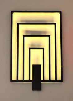 p/applique-murale-art-deco-leds delivers online tools that help you to stay in control of your personal information and protect your online privacy. Art Deco Bar, Art Deco Stil, Art Deco Home, Art Deco Design, Lampe Art Deco, Deco Luminaire, Art Deco Wall Lights, Art Deco Lighting, Art Deco Chandelier