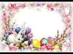Décoration de Pâques simple. Easter Photo Frames, Frame Template, Templates, Photo Layers, Beautiful Fairies, Top Photo, Free Photos, Simple, Past