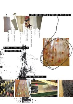 fabric and textile moodboard by Emma Jane Lord
