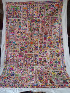 Vintage Tapestry Antique Indian Handmade by jaisalmerhandloom, $229.00