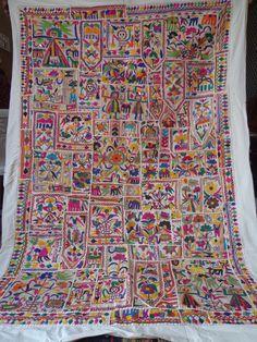 Vintage Tapestry Antique Indian Handmade by jaisalmerhandloom, $229.00