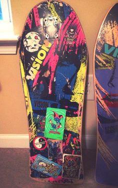 Vision Skateboards, Skateboarding, Arcade Games, Old School, Fun, Vintage, Skateboard, Vintage Comics, Skateboards