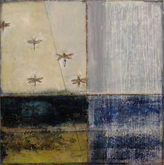 "Saatchi Online Artist Julie Baugnet; Painting, ""Intimate Immensity #3"" #art"