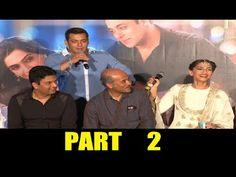 UNCUT Prem Ratan Dhan Payo trailer launch | Salman Khan, Sonam Kapoor | PART 2.
