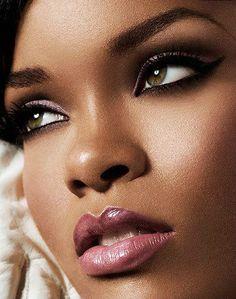 African American makeup plums