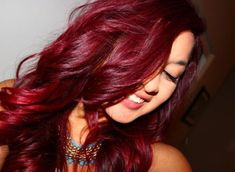 Red Hair Loreal Hicolor Highlights Magenta Violet Lebhafte Schattierungen Roter Haarfarbe Warm Width 510