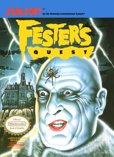 Title: Fester's Quest (Nintendo Entertainment System, 1989) UPC: 020763110075 Condition: Very Good - Pre-owned. Included: Cartridge only. Tested and in good condition. Cartridge Sold as pictured. Ship