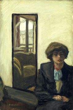 Pierre Bonnard (French, 1867-1947), Intérieur, c.1905. Oil on canvas, 59.5 x 40.5 cm., VISION
