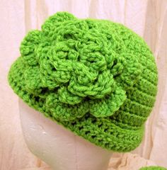 Bright and Happy hand made crochet hats and bands by wecreationz, $14.00