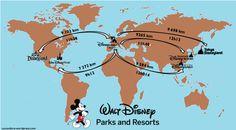 Carte des resorts Disney dans le monde - Cocon Dore.png