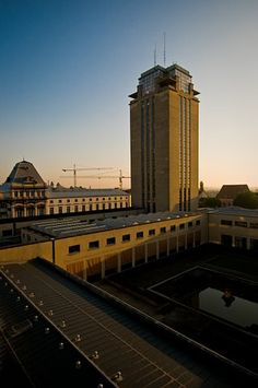 """De Boekentoren """"The Book Tower"""". University Library, Gent, Belgium - Henry van de Velde (1939) **"""