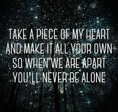 Resultado de imagen para frases de never be alone