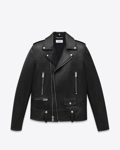 776ad0f01f3a28 Saint Laurent Leather Jacket  discover the selection and shop online on  YSL.com Riders