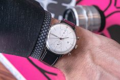 Junghans Max Bill Chronoscope Watch Review #menswatches #watches #menswear