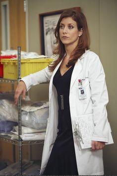I love Addison Montgomery's eye makeup on Grey's Anatomy.