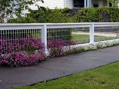 Easy DIY fence for along the property.