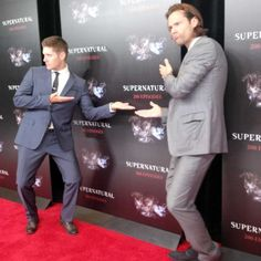 Jensen and Jared - 200th episode celebration