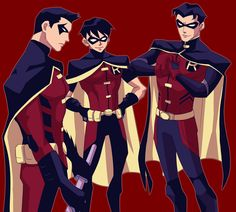 The Robins of Young Justice