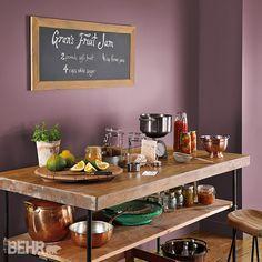 looks like BM purple hyacinth on my walls