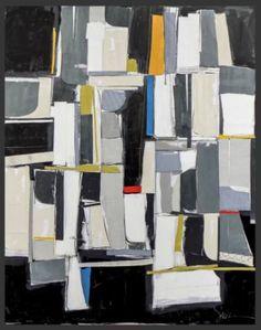 "Saatchi Art Artist Susan Washington; Collage, ""Chelsea No.2"" #art"