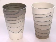 Latte Cups by Nanna Bayer - Ceramics - Tasmanian artist