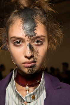 Vivienne Westwood Red Label Spring 2015 Ready-to-Wear Fashion Show Beauty