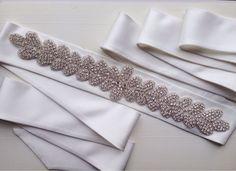 """Купить Пояс для свадебного платья """"Dream Princess"""" - свадебный аксессуар…"""