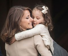 Princess Marie with her daughter. Love this photo!