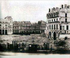 Place du Carrousel 1865