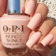Give off a high-fashion vibe as you sport this mani created by Preen.Me VIP Faro using her gifted OPI Infinite Shine 2 Icons Nail Lacquer in Bubble Bath. Discover your #InfiniteOptions by clicking through.