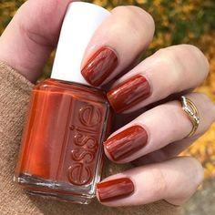 """essie on Instagram: """"@hjs_nails never has to fish for compliments with her #playingkoi mani. Shop this fall shade via the link in our profile. #essielove"""""""