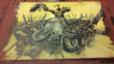 Magic Art of the Day - Rally the Horde by Paolo Parente - Check out the owner's gallery here: