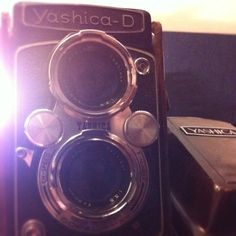 One of my dad's old cameras. Beautifully preserved and probably in great working order. Need to find film for it.