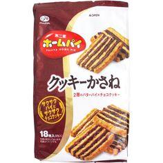 Fujiya Home Pie Layered Biscuit (Kukki Kasane) 108g, 18 biscuits