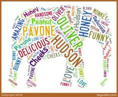 Free custom word cloud art. Pick shape & have fun! :) Could use for cool filler card.