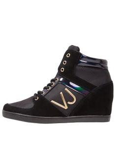 Versace Jeans sneakers high black Sneakers hoog - nero