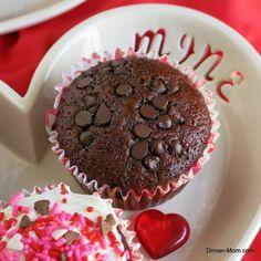 I Can't Believe It's A Vegan Chocolate Cupcake - The Dinner-Mom - It's super moist! #vegan