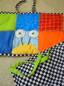Don't Tell Quilts: Custom Order: Monsters