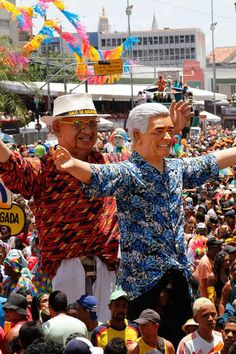 Carnaval de Pernambuco - Pessoas de todas as idades para participar da festa